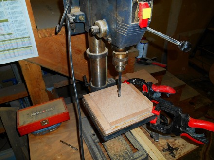 Doubler center hole jig