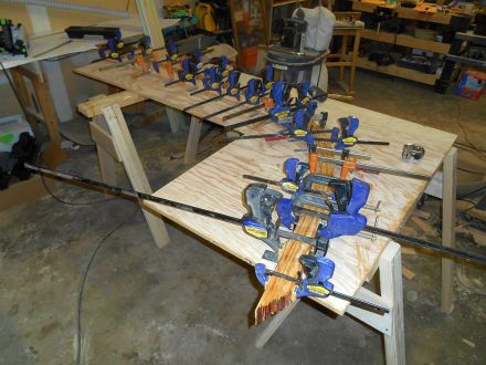 lamination glue up