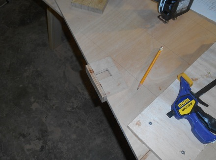 Slot marking jig