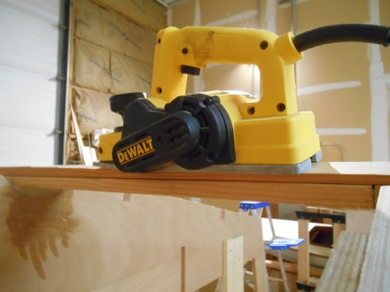 The small DeWalt at work
