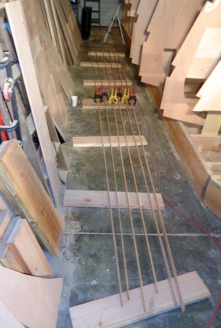 Stringer strip lamination factory