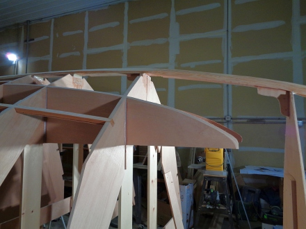 Final shape of the %^*(*$ under berth stringer
