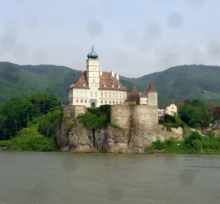 The Wachau Valley -- castles, wine and the world's best apricots.