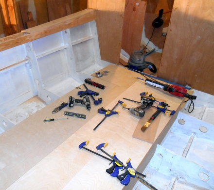 Why does it take every tool in the shop to install two pieces of plywood?