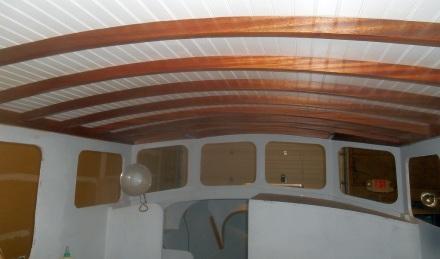 Interior looking forward