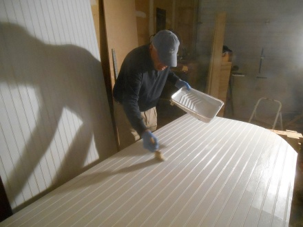 Ray painting roof panels