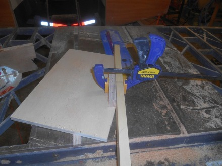 Scarfing jig. So much better than cutting them by hand.