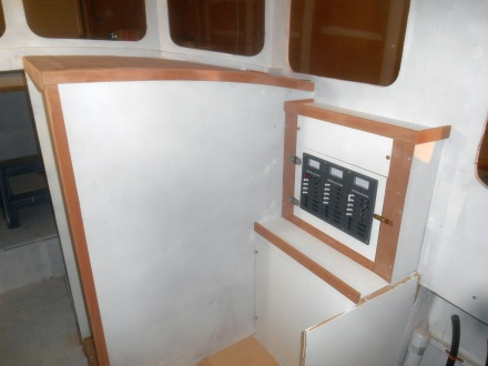 Forward cabin trim