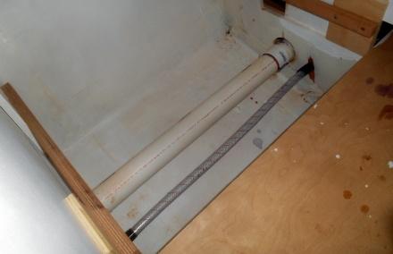 hose under sink