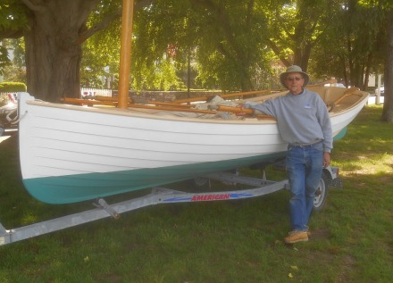 1885 Connecticut River Shad Boat Alva Starr is in PERFECT condition