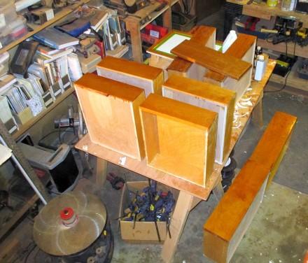 Drawer-finishing factory