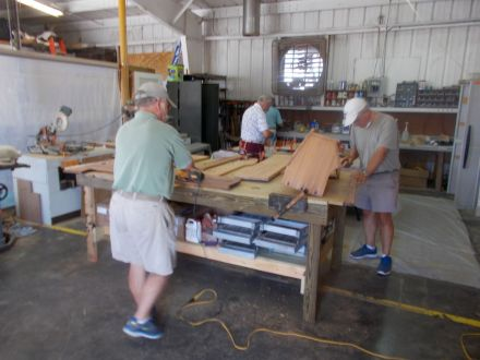 wood shop volunteers